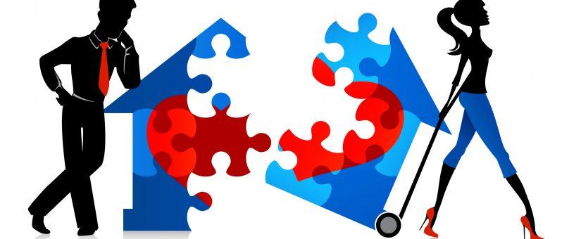 Sulla divisione della casa familiare in comproprietà tra gli ex coniugi.